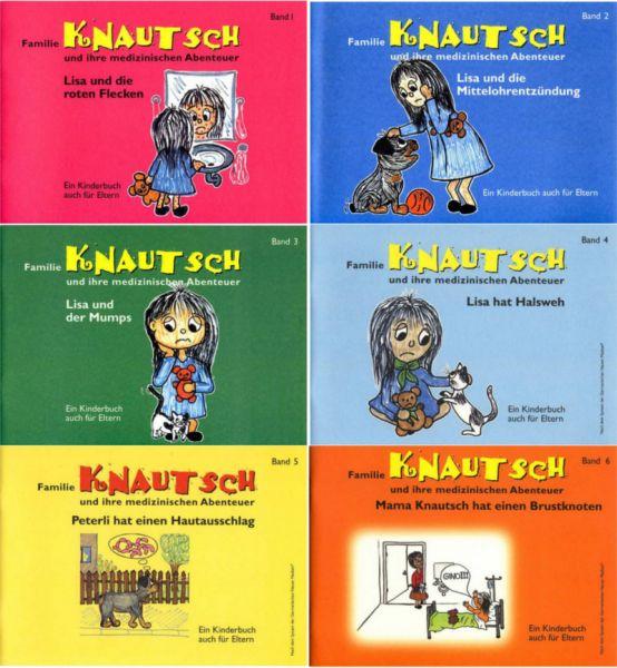 Familie Knautsch und ihre medizinischen Abenteuer - Band 1-6